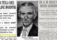 Where Tesla Died Luxury Nikola Tesla Pioneering Developer Of Alternating Current