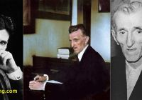 Where Tesla Died New Nikola Tesla In His 40s 50s and the Year He Died 1943