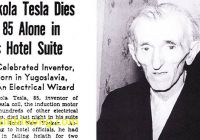 Where Tesla Died New the Lonely Death and Fantastic Reincarnation Of Nikola