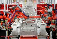 Where Tesla Manufactured Fresh Teslas Factory In A Fishbowl Wsj