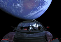 Where Tesla Roadster In Space Fresh Spacex Really Did Just Launch A Tesla Roadster Into Space