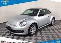 Where to Buy Volkswagen Beetle Awesome Used 2014 Volkswagen Beetle Coupe 2 5l Entry
