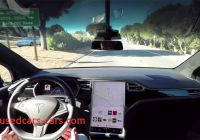 Which Tesla Can Drive Itself Awesome Watch A Tesla Drive Itself Around totally Autonomously
