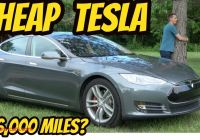 Which Tesla is the Cheapest Luxury I Bought the Cheapest Tesla Model S In the Usa Youtube