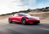 Who Tesla Cars Luxury New Tesla Roadster Musk Hints at Rocket Powered