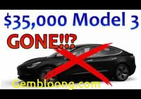 Why Tesla is Good Awesome why Tesla Killed the 35000 Model 3 Youtube