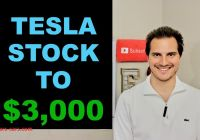 Why Tesla Stock Went Up Elegant why Tesla Stock is Going to 3000 Youtube