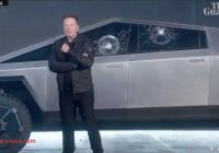 Why Tesla Truck Glass Broke Awesome Watch the Moment Teslas Perfect Cybertruck Reveal Was