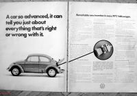 Why Volkswagen Beetle is so Costly Fresh 1972 Vw Beetle Puter Remarkable Invention original 2 Page 13 5 10 5 Magazine Ad