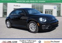 Why Volkswagen Beetle is so Costly Inspirational Certified Pre Owned 2018 Volkswagen Beetle S
