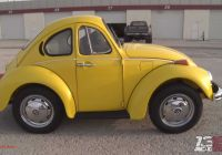 Why Was the Volkswagen Beetle Invented Fresh Shortened Vw Beetle Looks Shopped but It S the Real Deal