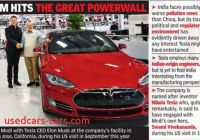 Will Tesla Come to India Lovely Tesla Drives Past India Into China Times Of India