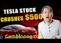 Will Tesla Keep Going Up Best Of Tesla Stock Crushes 500 why Tsla Keeps Going Up Youtube