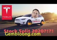 Will Tesla Stock Split Unique Tesla Stock News Videos the Las Vegas Journal