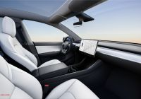 With Tesla Car Lovely Tesla Model Y Deliveries are Expected to Begin In March