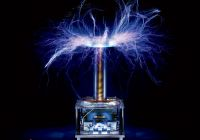 With Tesla Coil Beautiful Most Dangerous Object In the Office Btc40 Tesla Coil Wired