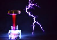 With Tesla Coil Elegant Tesla Coil with A Six Pack Capacitor Make