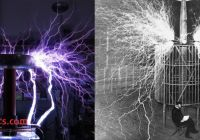 With Tesla Coil Unique History Of the Tesla Coil and Its Geometries Waveguide