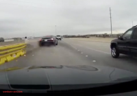 Wrecked Tesla Lovely Dashcam Footage Of Tesla Crash Shows why Autopilot Needs A