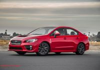 Wrx Cvt Beautiful 2015 Subaru Wrx Cvt First Test Motor Trend