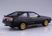 Xe Volkswagen Beetle Cũ Beautiful 1 24 toyota Ae86 Sprinter Trueno Gt Apex Black Limited 86